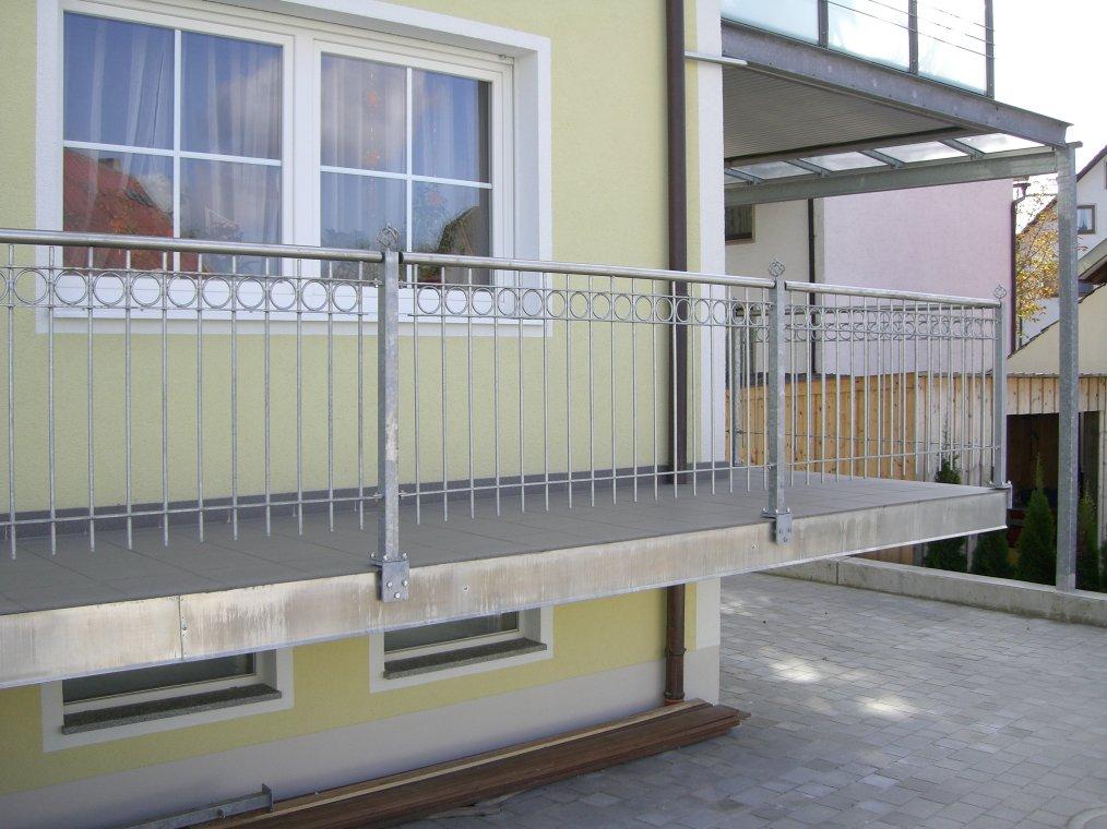 balkongel nder verzinkt jetzt angebot anfordern