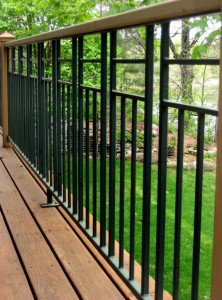 Balkonbrüstung aus Eisen